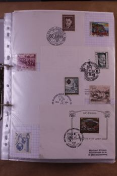 Austria 1970/2000 - batch of covers, FDCs and letters in 5 ring binders