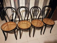 Thonet - 4 original chairs