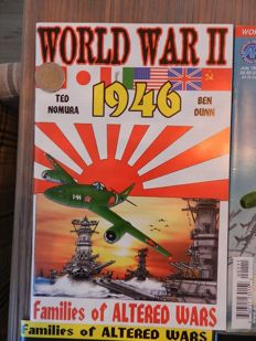 War Comics Set with World War II 1946, Luftwaffe 1946 and Dictators Of The Twentieth Century + More - 20x sc (1997-2002)