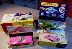 Dinky Toys - Scale 1/43 - Lady Penelope's FAB I No.100 and UFO Interceptor No.351