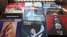 lot of 15 LP of French Artists