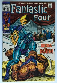 Marvel Comics - The Fantastic Four #93- 1x sc - (1969)