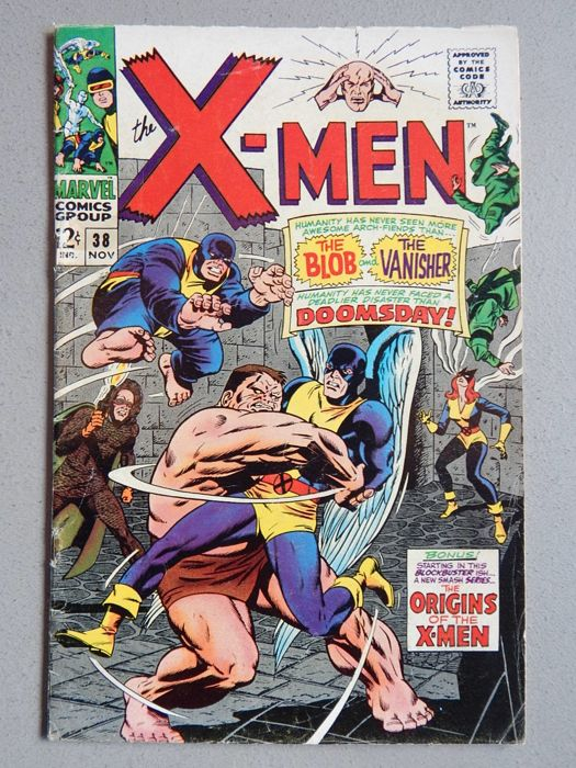 Marvel Comics - X-Men #38 - 1x sc - (1967)