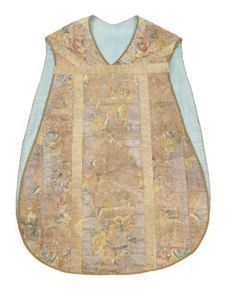Chasuble (Mass Vestments) - Portuguese - 18th century