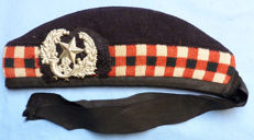 Original c.WW2 British Army Scottish Regimental Glengarry Cap for the Cameronians Regiment