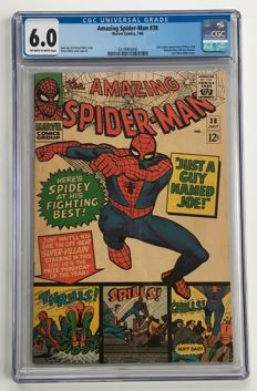 Marvel Comics -The Amazing Spider-Man #38 - CGC Graded 6.0 -  1x sc - (1966)