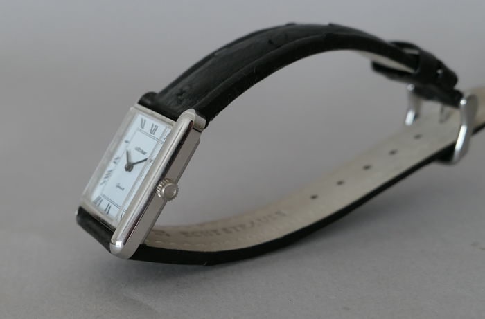 Wittnauer - Classic Rectangle Dress Watch - Unisex - 1980-1989