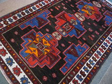 KAZAK Pakistan, hand-knotted, excellent condition, 200x124, certificate