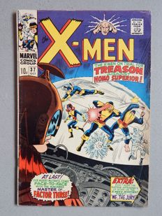 Marvel Comics - X-Men #37 - 1x sc - (1967)