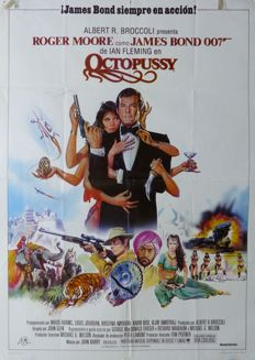 Octopussy James Bond 007 - Spanish Poster and Lobby Set, 1983 - Roger Moore