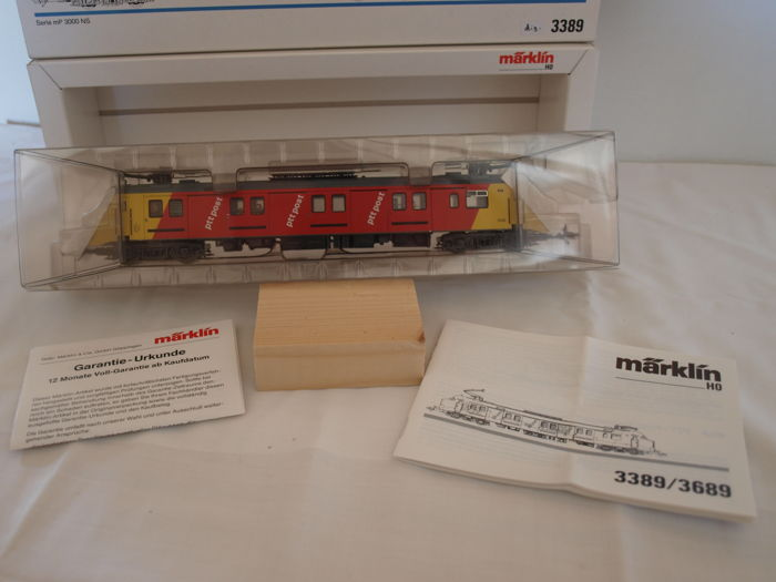 Märklin H0 - 3389 - Railcar -  mP 3000 - NS