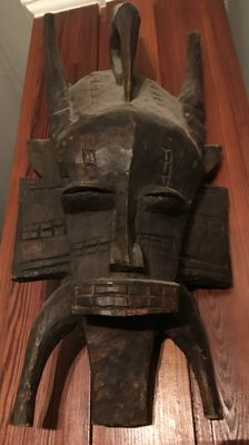 Central African tribal mask