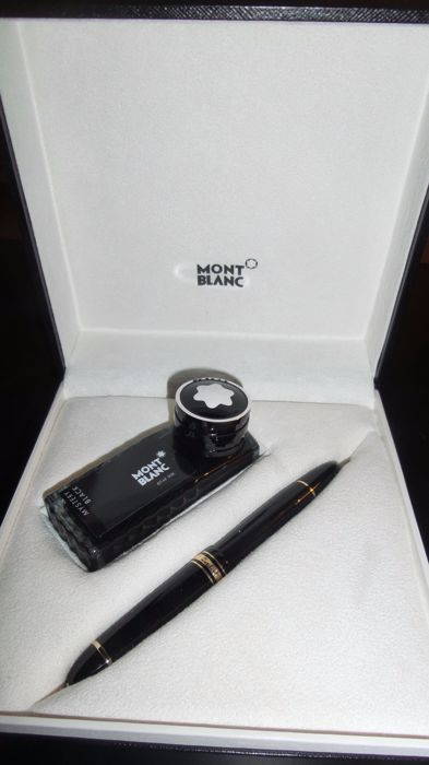 Montblanc Meistertuck 149 box and its inkwell