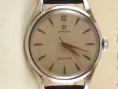 Omega seamaster  calatrava vintage men's steel hand winding watch