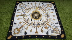 Hermès - Scarf 'The Keys' designed by Cathy Latam, in good condition - no reserve price