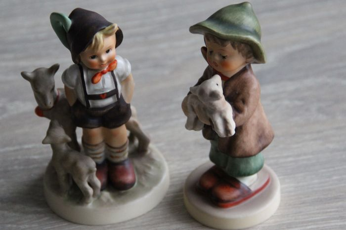 Goebel Hummel - 200/0 Little Goat Herder & 68 'The Lost Sheep'