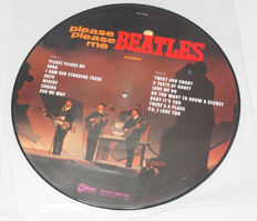 The Beatles Please Please Me Picture Disc Stereo Japan OP-7548