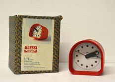 Joe Colombo for Alessi – Table clock, model: 02/R optic