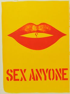 Robert Indiana (*1928) - One Cent Life - Sex Anyone