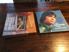 Cliff Richard - 6 LP Box The Cliff Richard Story with booklet plus 4 cd  Bear family box  Cliff Richard on the continent