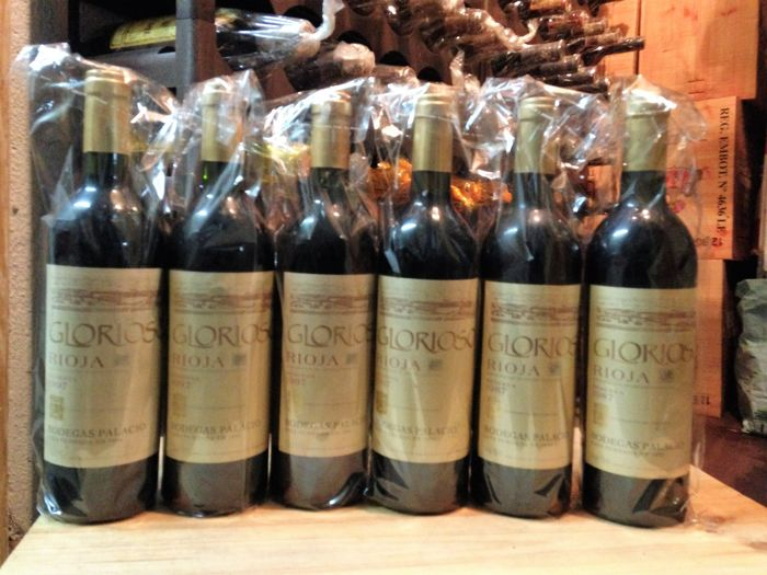 2x 1987 and 4x 1997 Glorioso de Bodegas Palacio, Rioja Reserva - Lot of 6 bottles