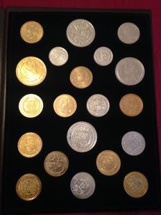 Spain - FNMT - collection of Spanish coins - limited edition