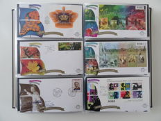 The Netherlands 2002/2010 - Complete collection of FDCs in Davo album