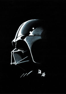 Star Wars : Darth Vader - Original Drawing - Diego Septiembre
