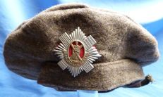 Original c.WW2 British Army Scottish Regimental Bonnet Tam O Shanter Cap for the Royal Scots Regiment