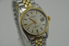 Rolex Oyster Perpetual Datejust Ref. 1601 Gold/Steel Men's Watch - Year 1966
