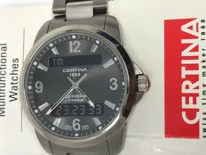 Certina DS Podium Titanium 100 Meter - 40 mm - With purchase receipt
