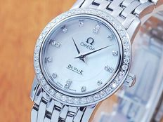 Omega De Ville Prestige Pearl Diamond Women's Watch!