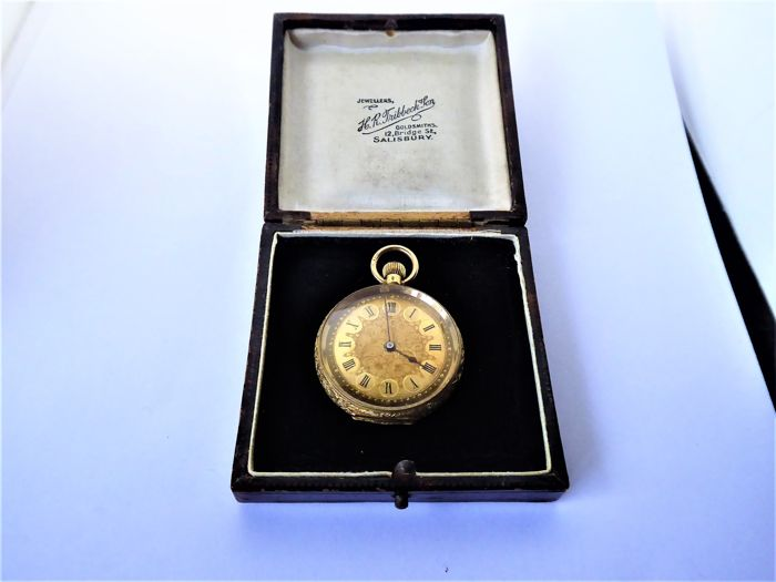 pocket watch circa 1890s {ref no 321}