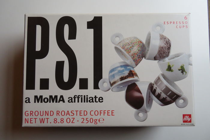 Illy Artist Collection - P.S.1 - (a MoMa affiliate) - 2001
