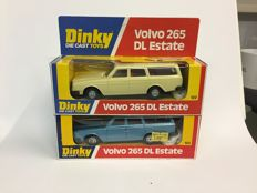 Dinky Toys - scale 1/35 - 2 Volvo 265 DL Estate No.122