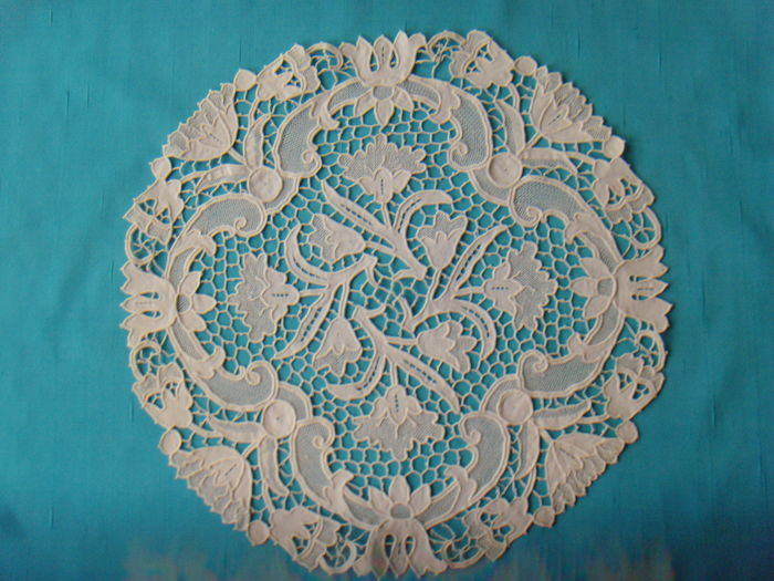 Needle lace - Point d`Argentan - around 1900 or older - France