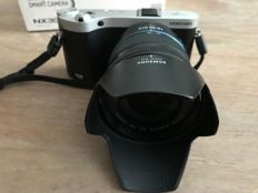 SAMSUNG NX-300 Black model 18-55 IOS AF lens with new carrying bag