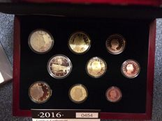 Luxembourg - year pack/ year collection 2016, including 2 Euros Duchess Charlotte