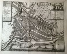 Katwijk, Monnickendam, Bredevoort, Oosterland, Deventer; 5 copper engravings - 18th century