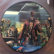 Iron Maiden - Stranger in a strange land & Living Death - Eisbein, original picture disks