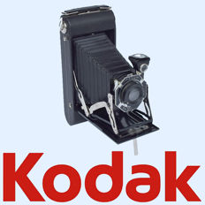 "KODAK Junior ""Six-16"" Series II roll film camera in new condition"