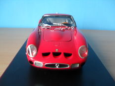 Hot Wheels Elite - Schaal 1/18 - Ferrari 250 GTO 1962 -Rood