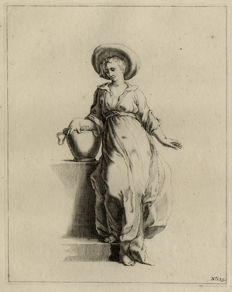 Two etchings by Frederick Bloemaert - ca. 1650
