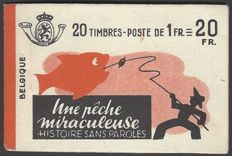 Belgium - Stamp booklet OBP no.