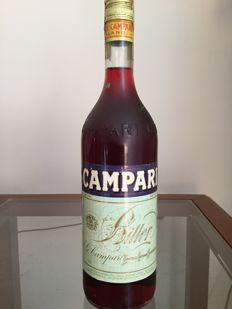 Campari Bitters. 1980s old bottling.