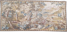 vintage pictorial tapestry, second half of the 20th century, France  71 cm x 149 cm,