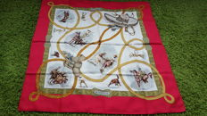 Hermès Paris - 'Charreada' Scarf designed by Jean de Fougerolle, in very good condition - no reserve price -