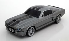 Ford Usa Mustang Shelby Gt500E 1967 Eleanor- Gone In 60 Seconds Gray Met Black Greenlight 1:18