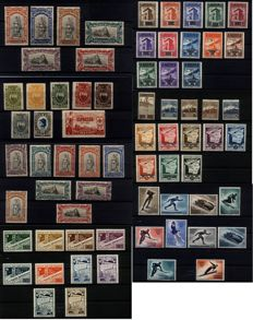 San Marino 1918/1955 - stamps in complete series