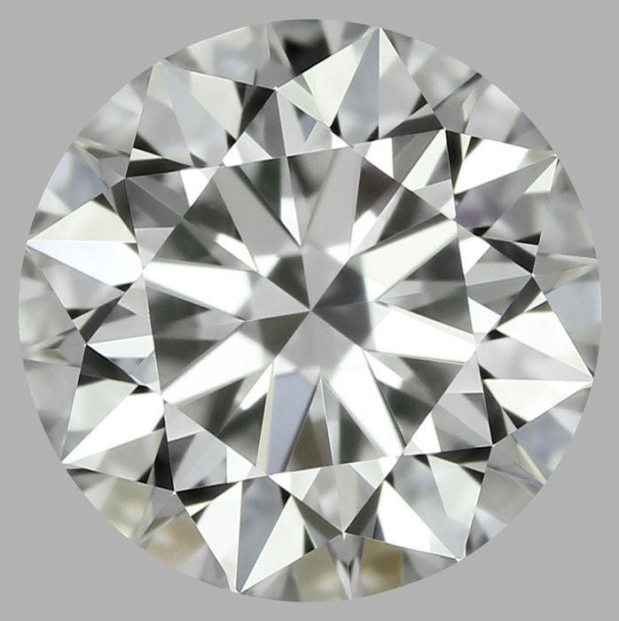 0.50 ct Round Brilliant Cut Diamond D VVS2